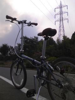 16号と自転車のコラボ撮影
