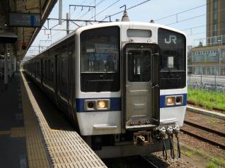 415系初乗車