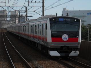 E233系ケヨ502編成