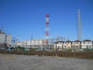 京北変電所