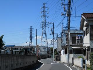 もうすぐ武蔵野変電所