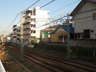 昭和5年製の京急の架線柱
