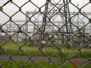 ここが中東京変電所