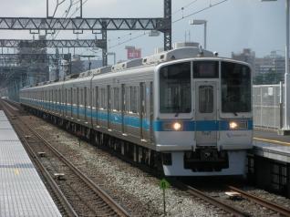 厚木駅から1081編成