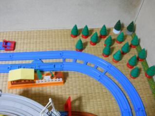 トンネルのないカーブ