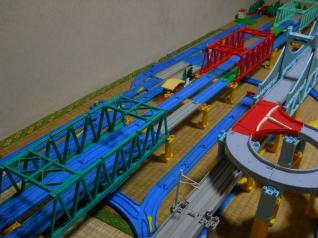 鉄橋3連続