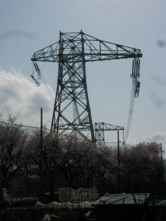 研修用の高圧対応鉄塔