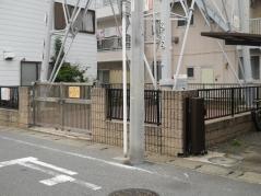 塀囲いの3号結界