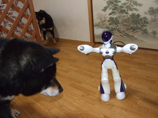 ロボットのおもちゃ