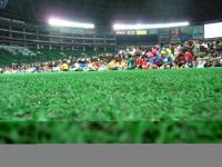 ヤフードームでサッカー