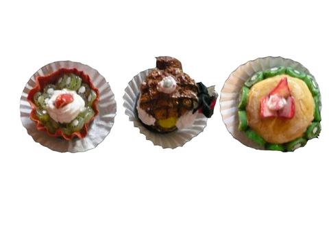 マグネットの洋菓子(//^-^//)