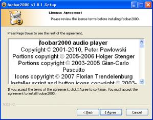 foobarインストール(その2)