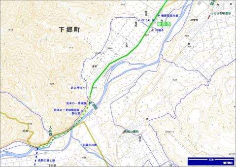 会津西街道 倉村