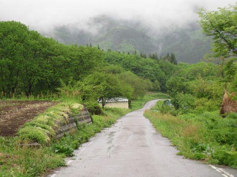 八幡峠旧道