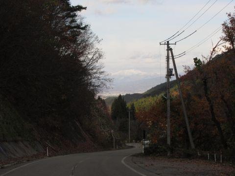 福島県道131号 栃沢