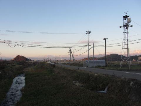 会津西街道旧道と氷玉川