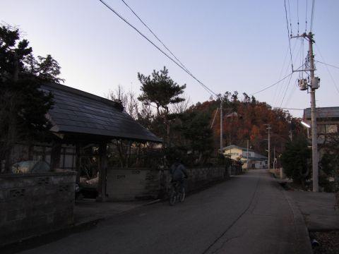 会津西街道旧道 丸山・横堀下