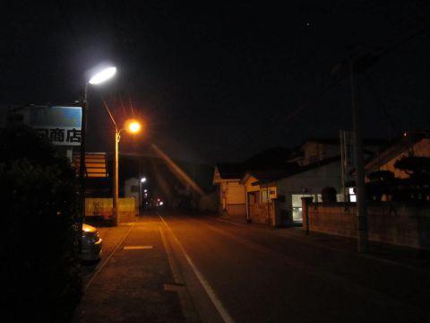 会津西街道旧道 本郷