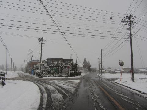 福島県道219号 駅前