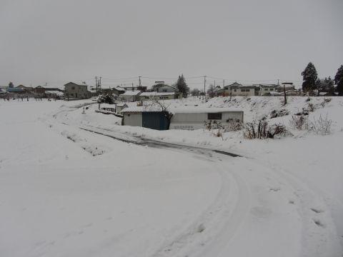会津西街道旧道 上米塚