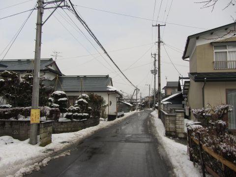 会津西街道旧道 飯寺