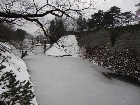 本丸高石垣