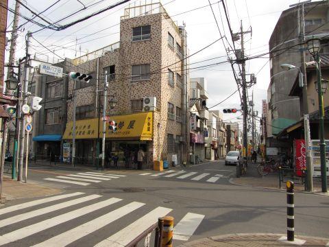 成田街道旧道 高砂8丁目交差点
