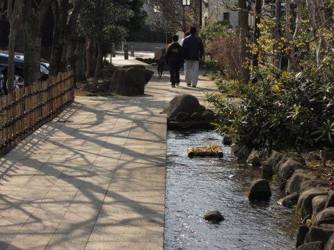 上小岩親水緑道