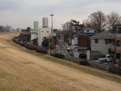 成田街道旧道 北小岩