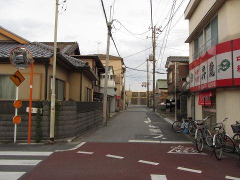 成田街道旧道 旧御番所町
