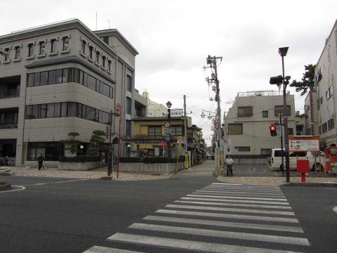 弘法寺参道(大門通り)入口