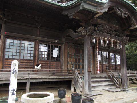 法華経寺刹堂