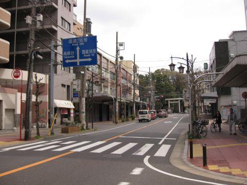成田街道 宮本
