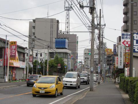 国道296号 勝田台