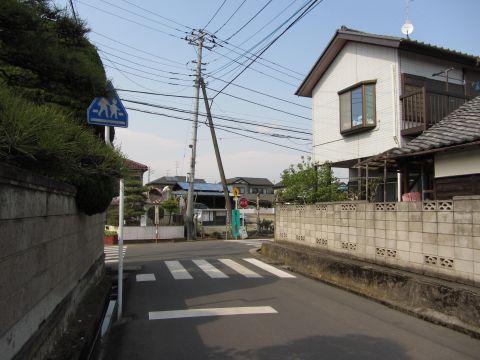 成田街道旧道 臼井台