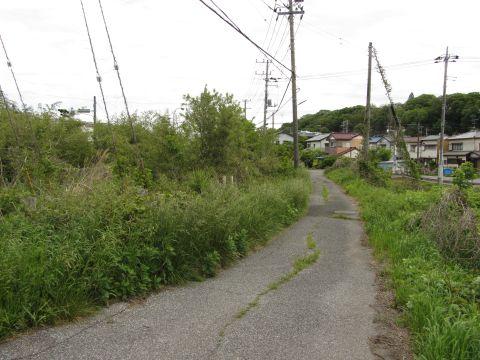 鹿島川付近の旧道