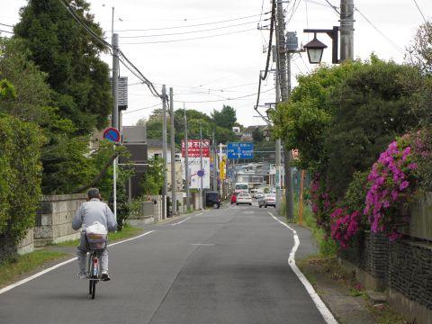 成田街道旧道 田町