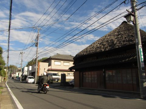 成田街道 田町