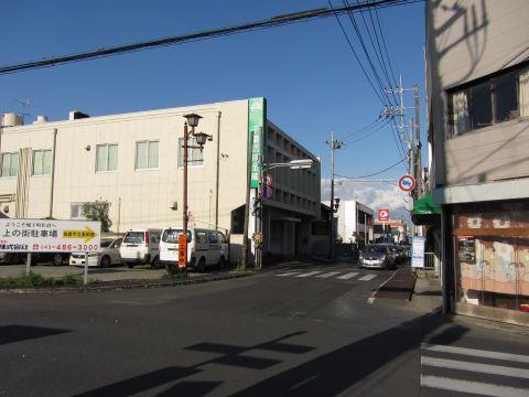 成田街道 新町交差点