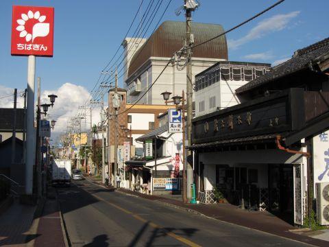 成田街道 新町(旧上町)