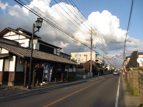 成田街道 新町(旧間之町)