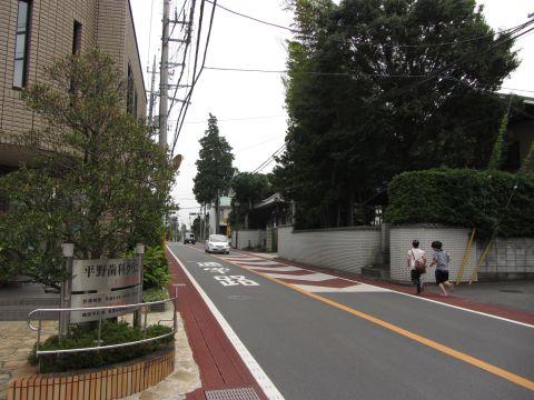 成田街道 昌柏寺前