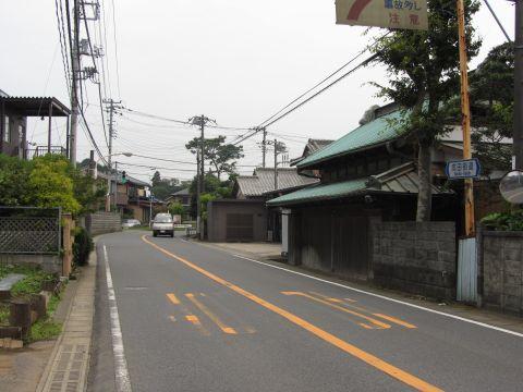 成田街道旧道 上本佐倉