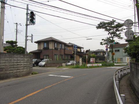 上本佐倉の旧道入口