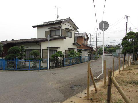 上本佐倉の旧道