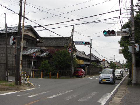 成田街道・多古街道の追分