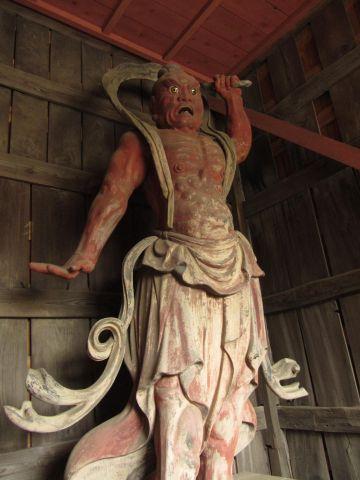 勝蔵院の仁王像