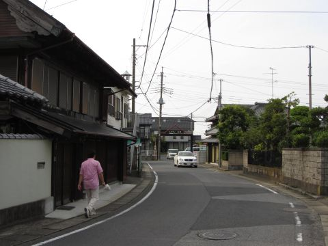 成田街道旧道 中川