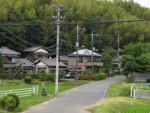 成田街道旧道 伊篠