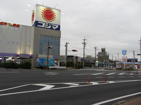 成田街道 並木町